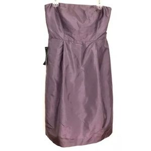 Ann Taylor Dupioni Silk Lined Formal Evening Dress